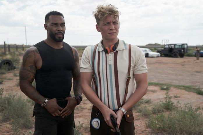 Van e Dieter a lezioni di armi da fuoco