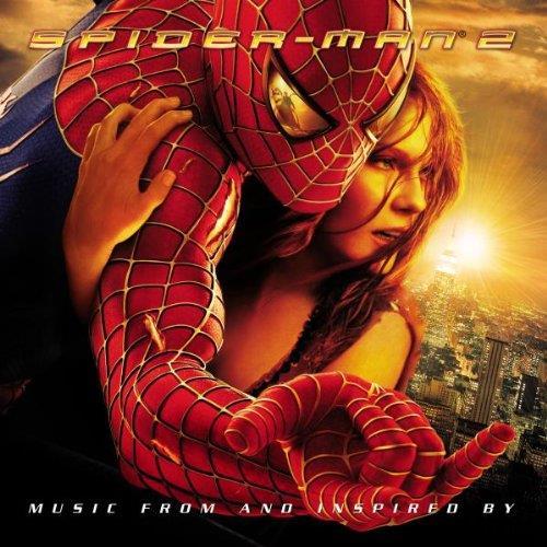 La copertina della colonna sonora di Spider-Man 2
