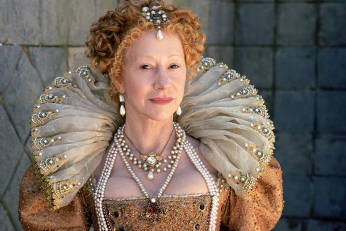 Helen Mirren nelle vesti di Elizabeth I