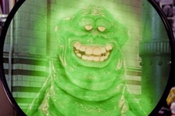 Video con slimer dalla serie