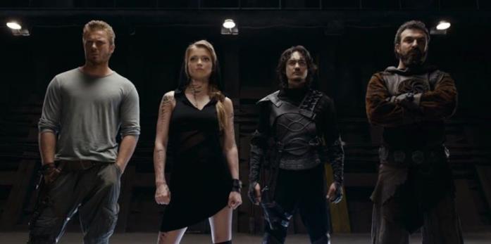 Alcuni dei personaggi di Guardians