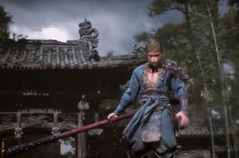 Un'immagine del personaggio principale