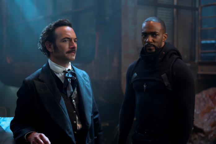 Poe e Takeshi nella seconda stagione di Altered Carbon