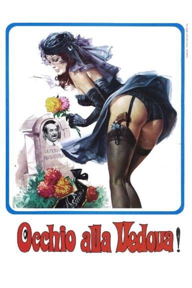 Poster Occhio Alla Vedova!