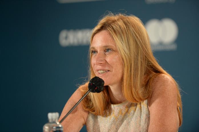 Susanna Nicchiarelli in conferenza stampa