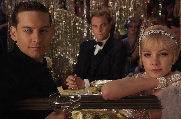 Una scena de Il Grande Gatsby del 2013