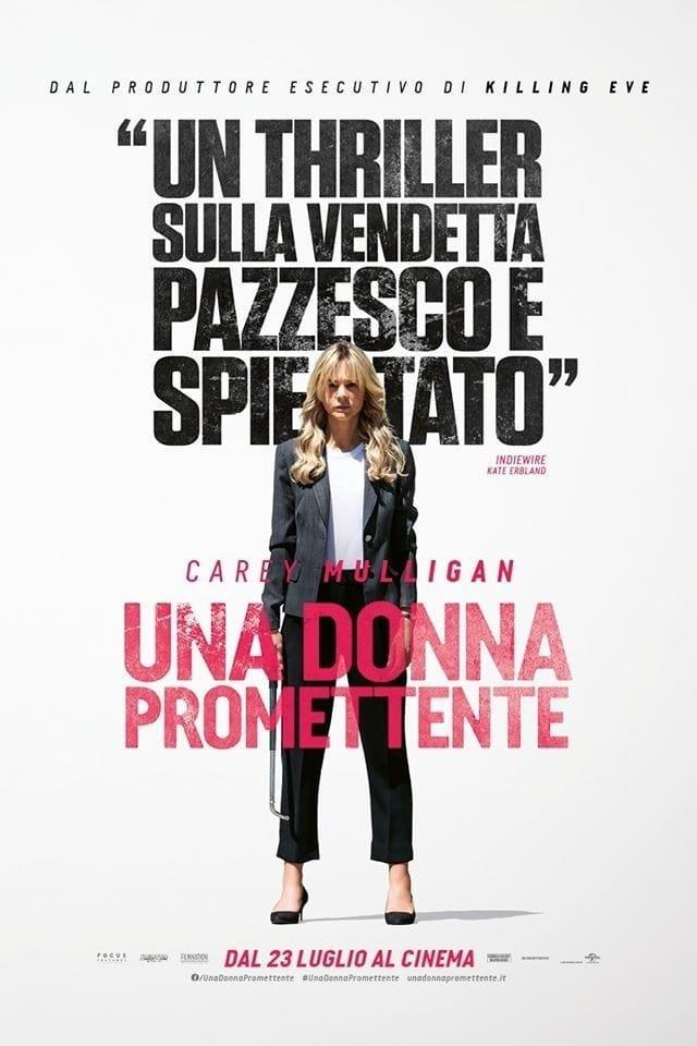 Una donna promettente: poster