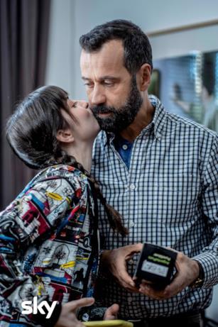 Paolo diventa per caso star del web per amore della figlia