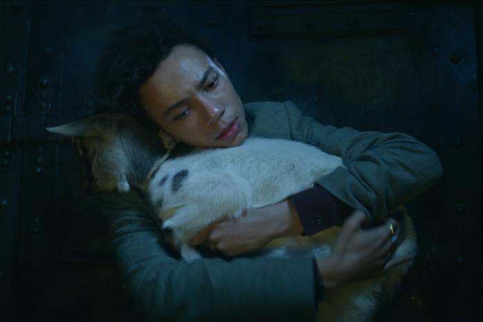 Jesper abbraccia Milo