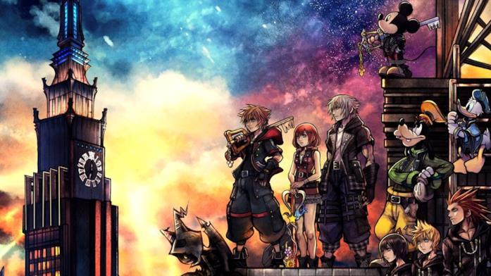 Kingdom Hearts personaggi