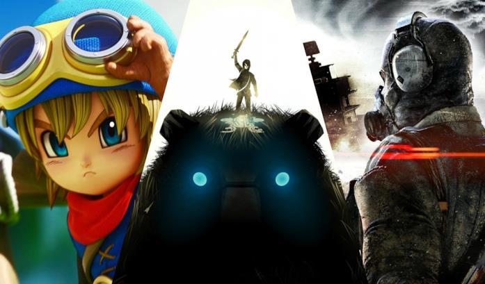 Le cover di alcuni dei videogiochi in uscita a febbraio 2018