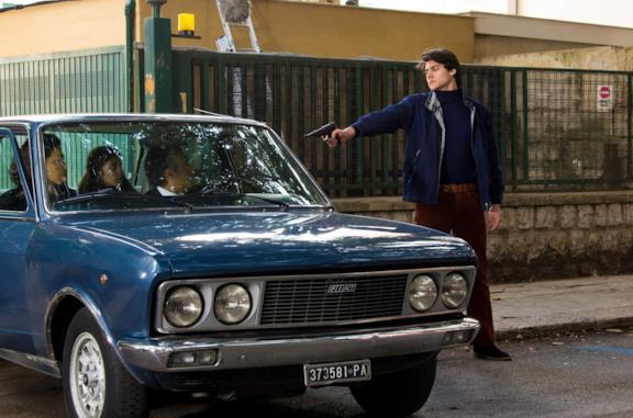 Una scena del film Il delitto Mattarella