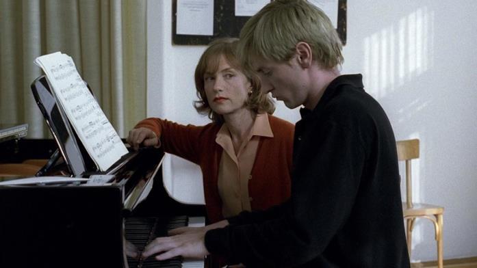 Una scena di La pianista