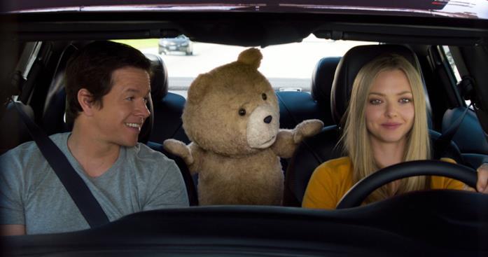 Una scena di Ted 2