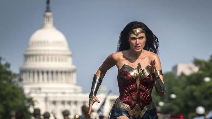 Wonder Woman corre a Washington D.C.