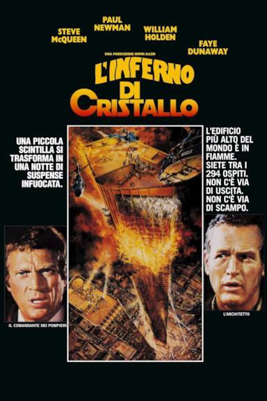 Poster L'inferno di cristallo