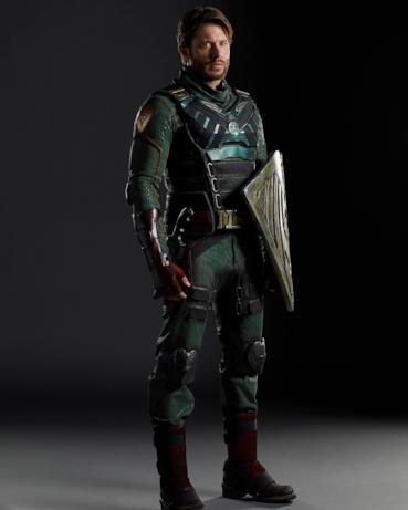 Jensen Ackles in costume da Soldier Boys