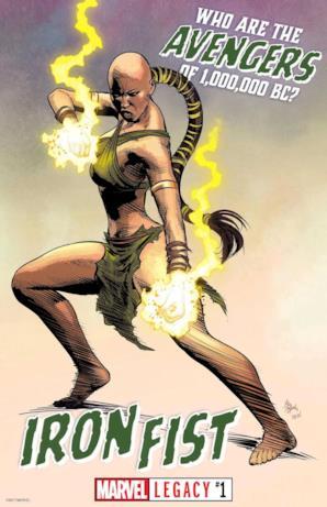 Iron Fist da Marvel Legacy #1