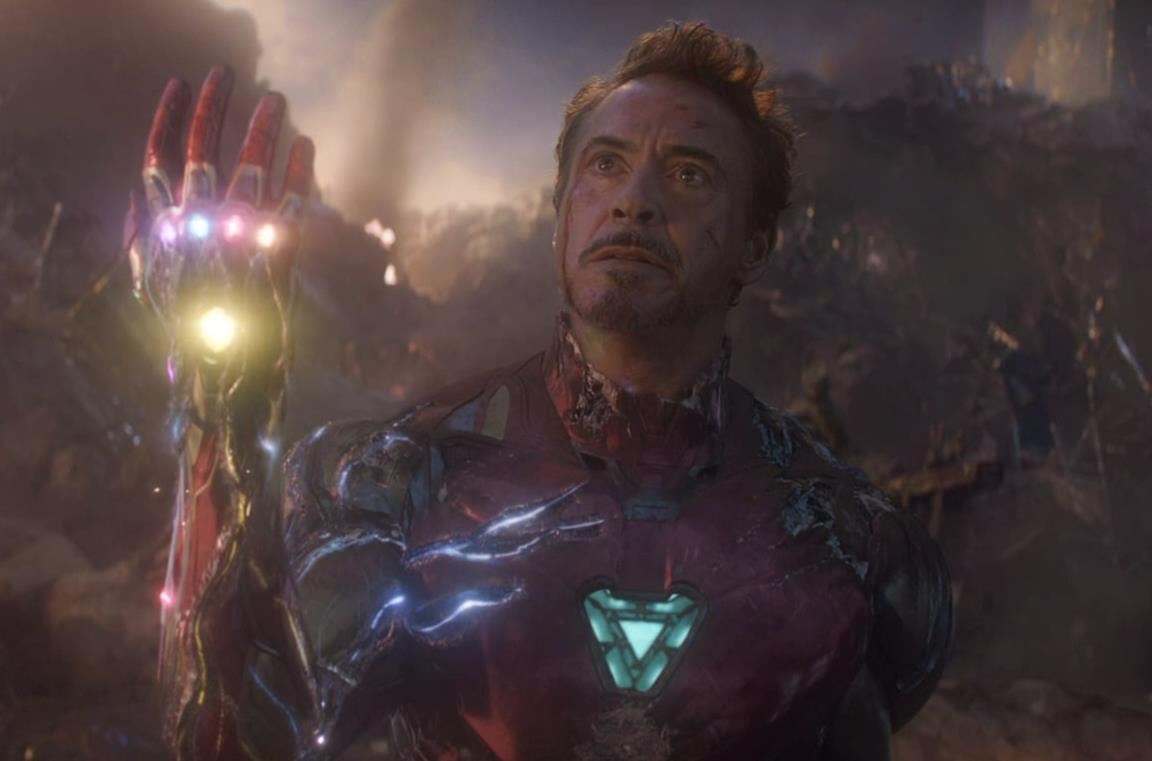 Tony Stark Guanto Infinito Avengers Endgame
