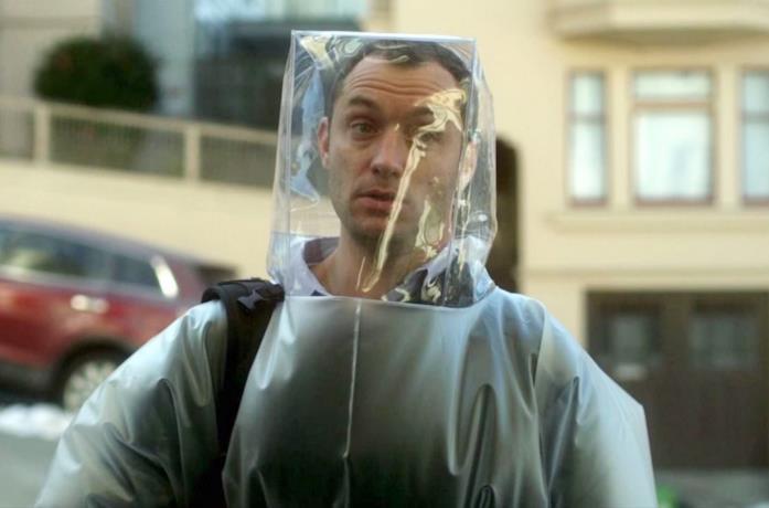 Primo piano di Jude Law