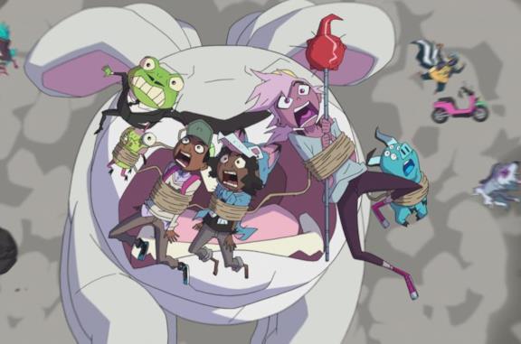 Kipo e l'era delle creature straordinarie nuovo trailer