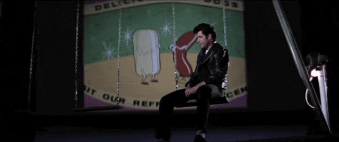 La scena dell'hot-dog in Grease