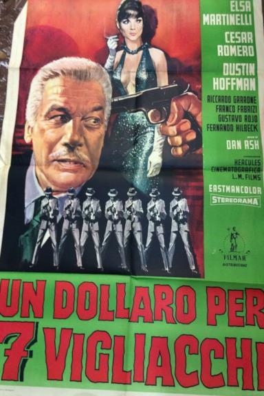 Poster Un Dollaro per 7 vigliacchi