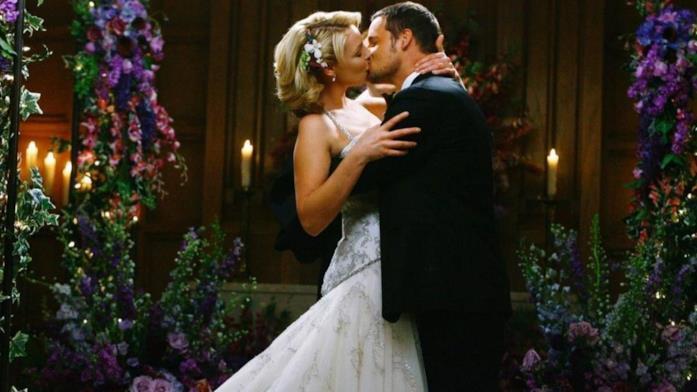 Una scena dal matrimonio di Alex e Izzie