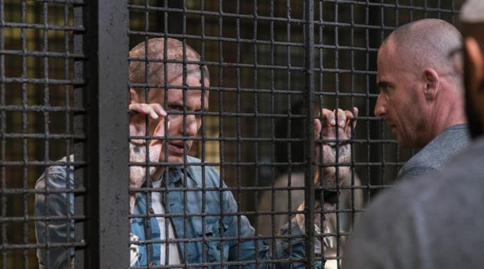 Prison Break, Dominic Purcell e Wentworth Miller nei panni di Lincoln e Michael