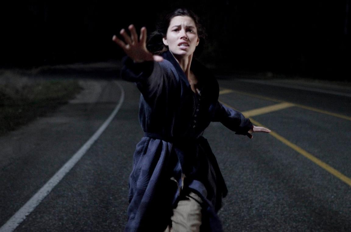 Jessica Biel in una scena dal film I bambini di Cold Rock