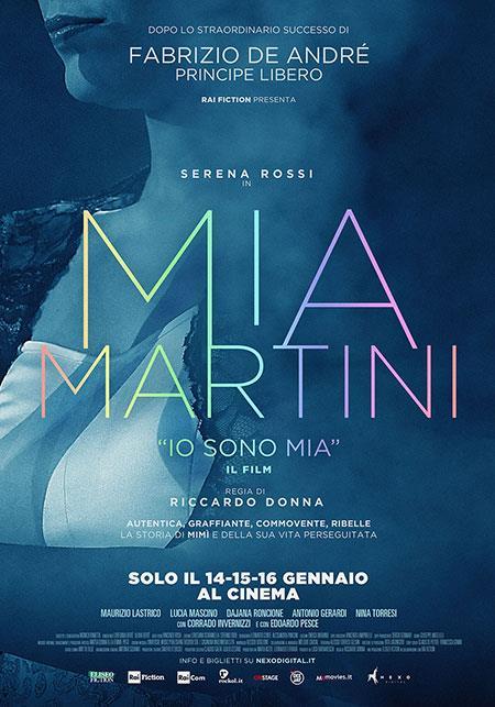 La locandina di Io sono Mia, film dedicato alla vira di Mia Martini