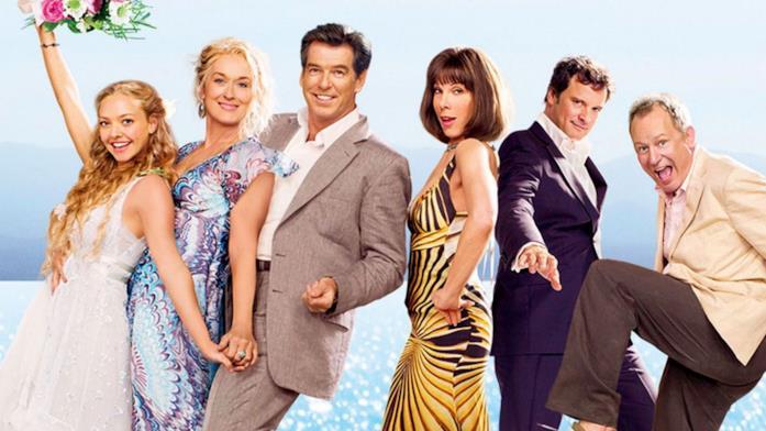 Il cast di Mamma Mia