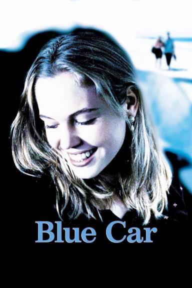 Poster Blue Car