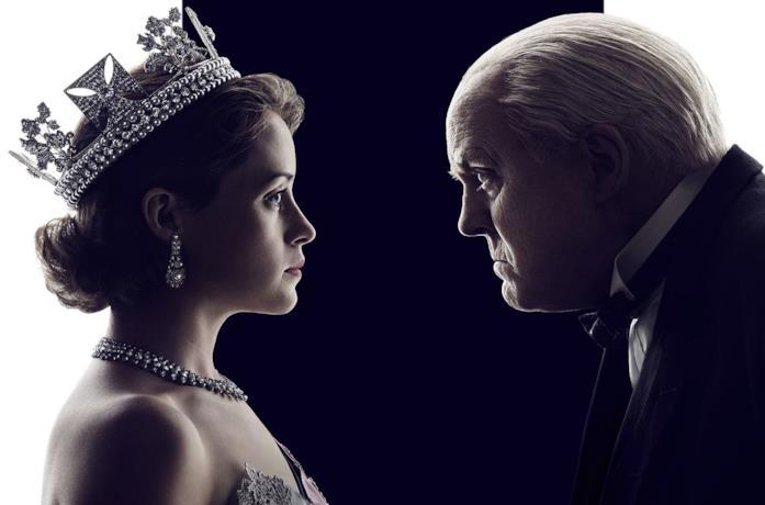 Claire Foy è la regina Elisabetta II in The Crown