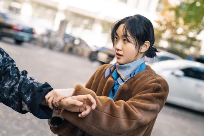 Kim Go-eun in una scena della serie The King: Eternal Monarch