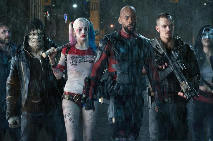Una scena di Suicide Squad