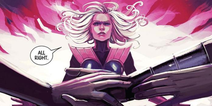 Clea in una tavaola Marvel Comics