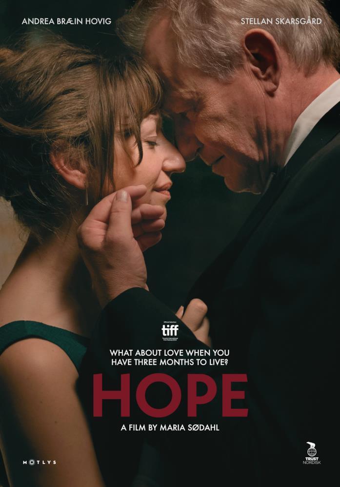 Il cast nella locandina di Hope