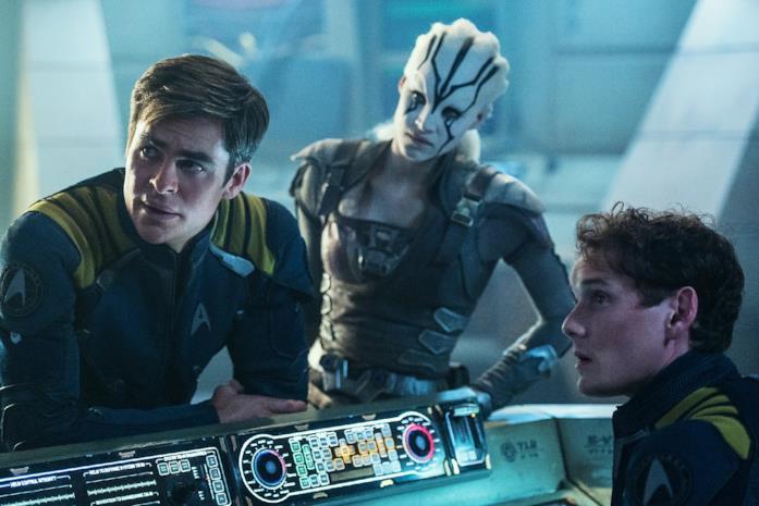 Una scena di Star Trek Beyond