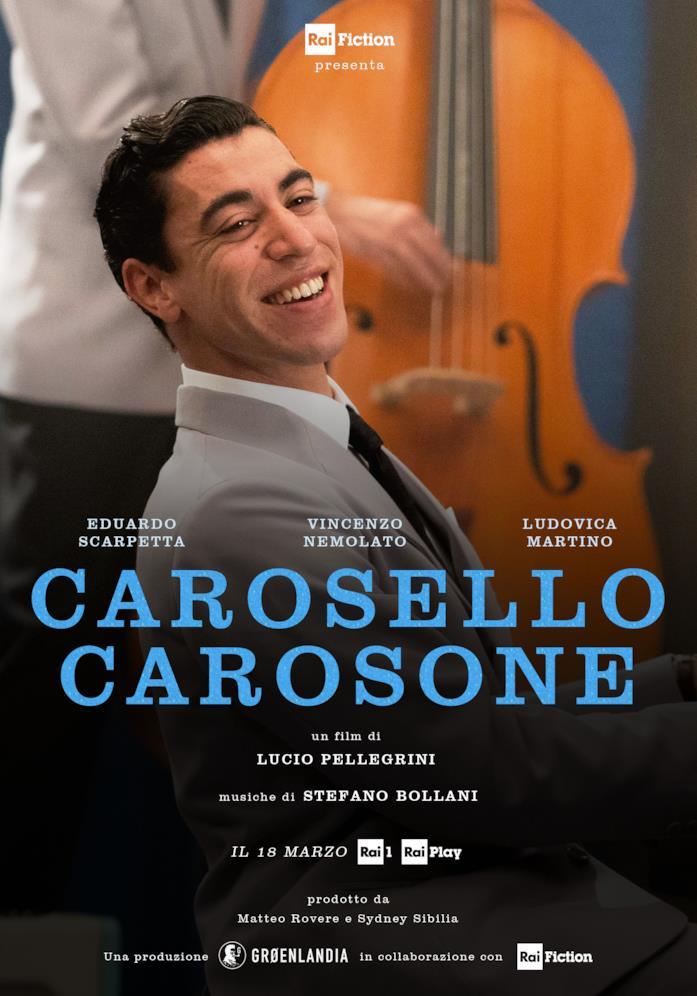 Il poster di Carosello Carosone