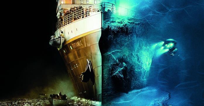 Il Titani ripreso dal documentario Ghosts of the Abyss