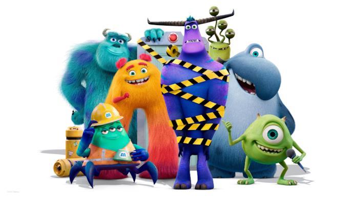 I personaggi della serie animata di Monsters & Co.