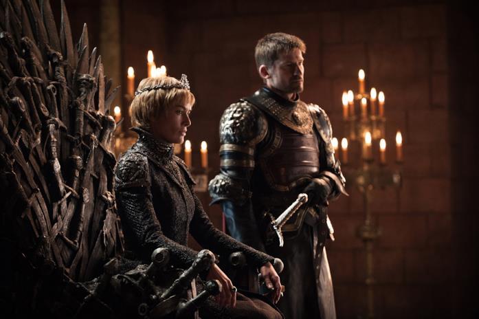 Lena Headey e Nikolaj Coster-Waldau nella stagione 7 di Game of Thrones