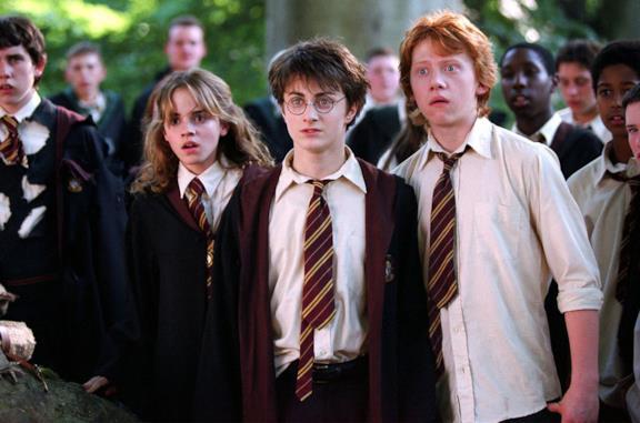 Un'immagine di Harry, Hermione e Ron