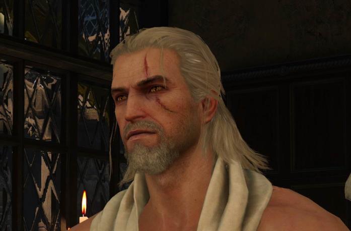 Geralt di Rivia, protagonista della saga di The Witcher