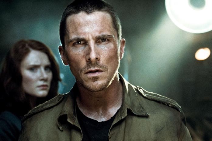 Christian Bale nel ruolo di John Connor