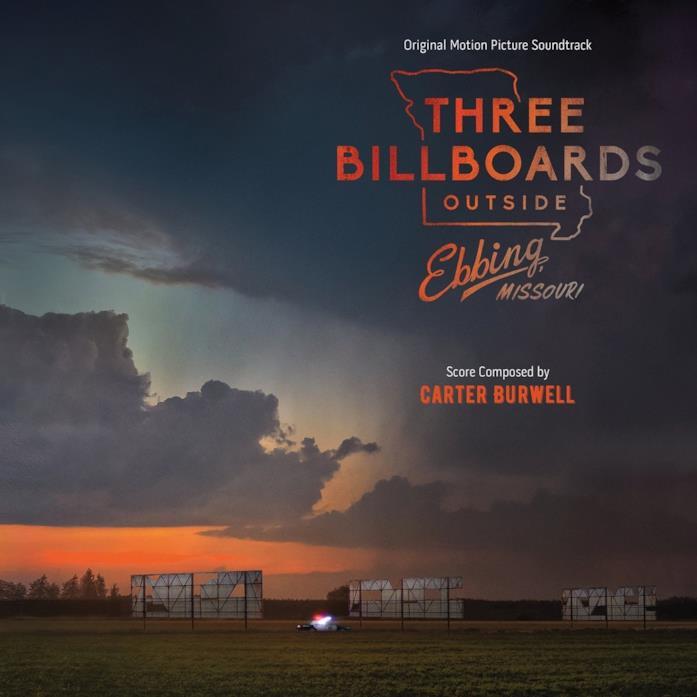 La copertina dell'album musicale di Tre manifesti a Ebbing, Missouri