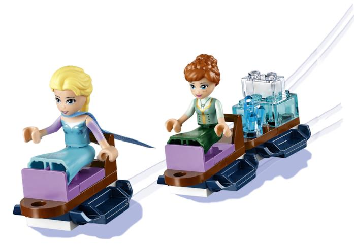 Dettagli delle mini-doll di LEGO di Elsa e Anna