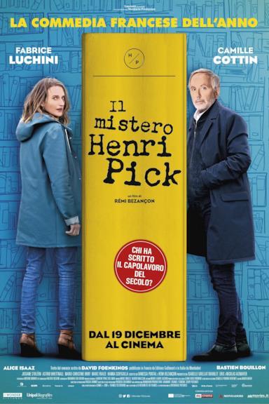 Poster Il mistero Henri Pick
