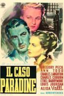 Poster Il caso Paradine